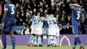 Un Manchester City arrollador fulmina a un flojo Leicester