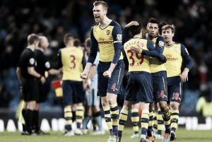 Wenger: Etihad hurdle defining moment
