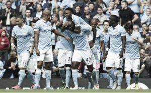 Manchester City 2-0 Watford: Sterling and Fernandinho star as sky Blues win again