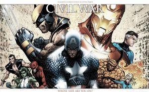 Capitán América contra Iron Man