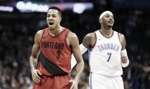 NBA - CJ McCollum guidai suoi nella vittoria contro i Thunder. Portland porta a casa un altro risultato pesante