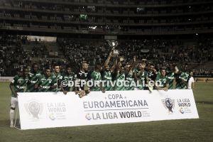 Un título más para el Cali que superó al Málaga en la Euroamericana