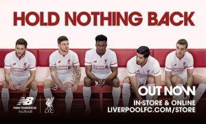 El Liverpool anuncia la segunda equipación para la 2015/2016