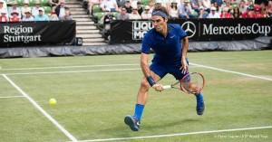 ATP Stoccarda, le semifinali: Federer apre con Thiem, poi Del Potro