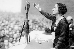 El voto femenino; un ideal por encima de la política