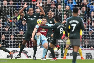 Burnley 1-1 Manchester City: Clarets battle to deserved point against leaders