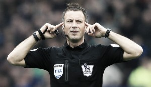 Mark Clattenburg, árbitro de la final de la FA Cup