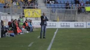 """Claudio Barragán: """"El equipo ha hecho un gran esfuerzo para conseguir los tres puntos"""""""