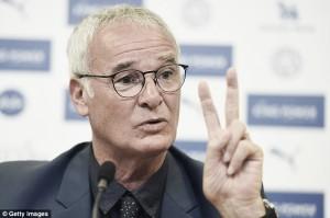 """Claudio Ranieri: """"Tratamos de ganar, es nuestra filosofía"""""""