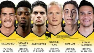 Tiempos de renovación en el Borussia Dortmund