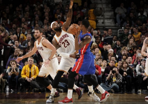 Cleveland Cavaliers vs Detroit Pistons Score, Commentary, Highlights and 2015 NBA Results