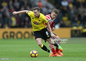 Tom Cleverley to make move from Everton to Watford permanent