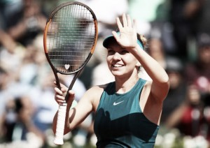 French Open: Simona Halep beats Garbine Muguruza to reach third Roland Garros final