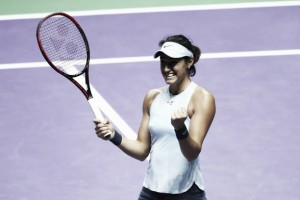 WTA Finals: Caroline Garcia overcomes Elina Svitolina in three set thriller
