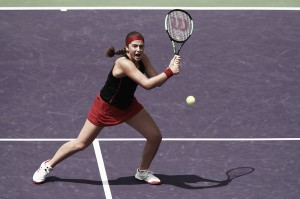 WTA Miami: Jelena Ostapenko edges past Elina Svitolina, reaches last four