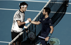 Australian Open: Roger Federer fights off 20-year-old Noah Rubin to advance to third round