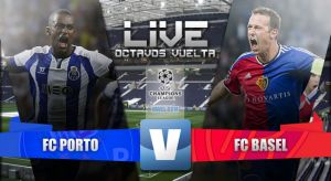 Resultado Porto vs Basilea en la Champions League 2015 (4-0)