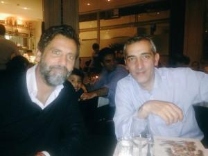 Sánchez Flores y Ramón Robert se citan en Londres