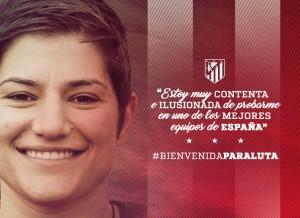 Andreea Paraluta refuerza la portería del Atlético Féminas