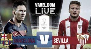 Live Barcellona - Siviglia, risultato Supercoppa Europea in diretta (5-4)