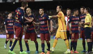 Barcellona: Piquè squalificato per 4 giornate dopo gli insulti al guardalinee nel match col Bilbao