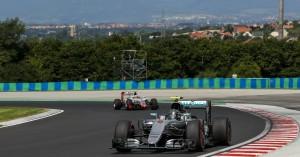 Nico Rosberg lidera los segundos entrenamientos libres del Gran Premio de Hungría