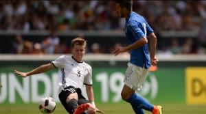 Meret y la fortuna derrotan a Alemania