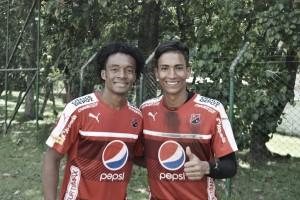 Juan Guillermo Cuadrado entrena con el Medellín