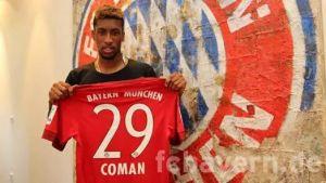 Coman prêté au Bayern Munich