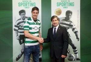 Coates seguirá vistiendo la camiseta del Sporting Portugal