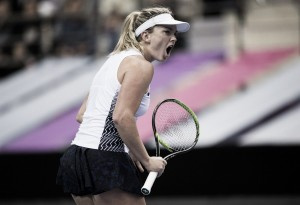 Fed Cup: Coco Vandeweghe regains the lead for the USA with straight-sets win over Aryna Sabalenka