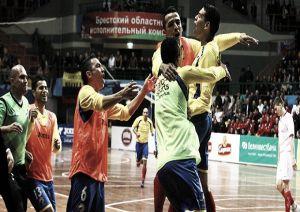 Colombia venció a Rusia y se instaló en semifinales del Mundial de futsal