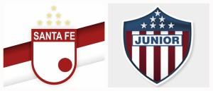 Santa Fe vs Junior en vivo y en directo online en cuartos de final Liga Águila 2015-II