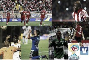 Resumen de la segunda fecha de la Liga Águila 2015-I