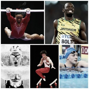 Las estrellas que pugnan por el trono de Río 2016: Biles, Bolt, Ledecky, Phelps y Uchimura