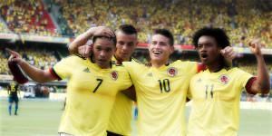 Tres posibles bajas que preocupan a la Selección Colombia
