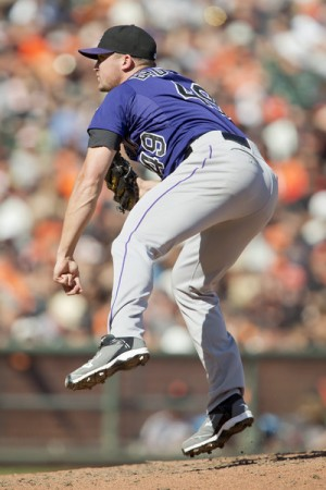 Chicago Cubs Acquire Rex Brothers From Colorado Rockies