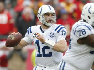 Colts superó a Chiefs y sueña con una final de conferencia