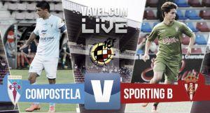 Resultado SD Compostela - Sporting B en Segunda B 2015 (0-2)