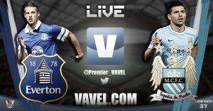 Everton vs Manchester City en vivo