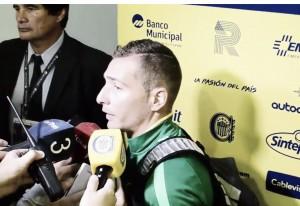 """Ruben: """"El balance general es positivo, más allá del resultado"""""""