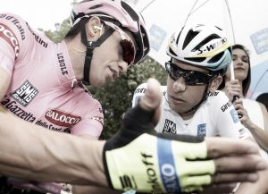 Contador, appunti da crono