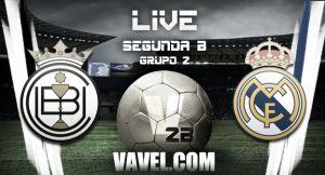 Resultado Conquense vs Real Madrid Castilla en la Segunda División B 2015 (0-2)