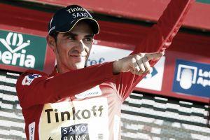 """Alberto Contador: """"Estoy de rojo y pensando claramente en ganar"""""""