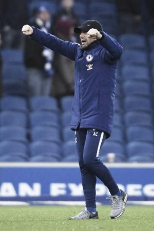 Conte elogia postura do Chelsea após vitória confortável sobre Brighton