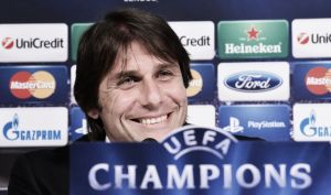 "Antonio Conte ""We want to advance in the Champions League"""