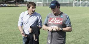 Napoli, Antonio Conte in visita a Castelvolturno