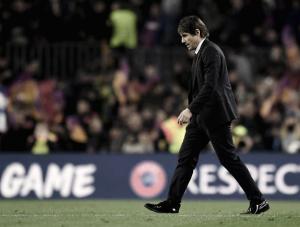 Conte lamenta eliminação para Barça e vê Messi imprescindível ao resultado final