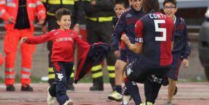 La famiglia Conti: uno spot per il calcio