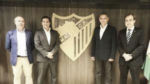 Málaga CF y SUR firman un convenio para desarrollar proyectos en la ciudad